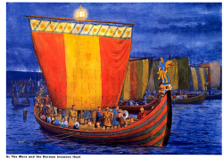 Флот викингов в походе