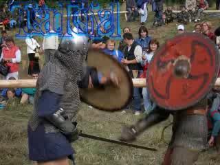 Фестиваль исторического фехтования под Киевм