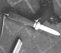 нож парашутиста второй мировой