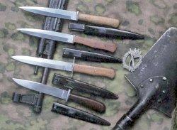 боевые ножи первой мировой