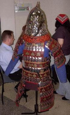 татаро-монгольский доспех