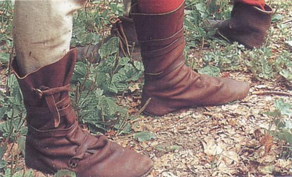 Как сшить средневековые ботинки 96