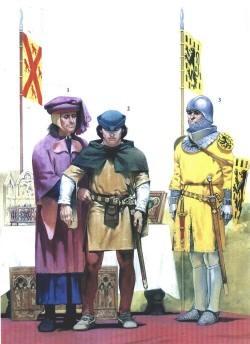 посвящение в рыцари нач. 14 века