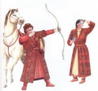 одежда из кургана Джухта-2