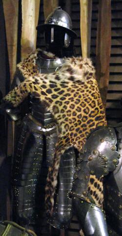 польский кавалерийский доспех 16-17 века