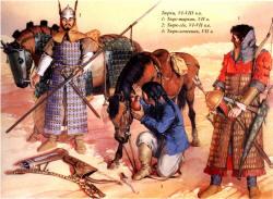 тюрки-воины 6-7 век