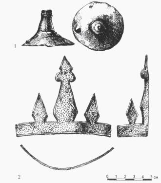 шлем из Новгорода