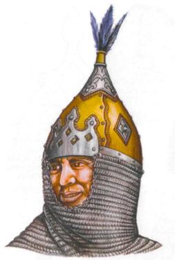 шлем Гожуха - реконструкция