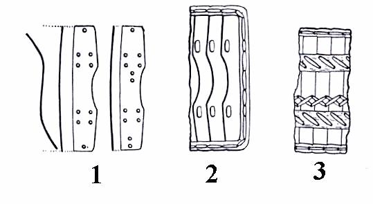 Детали брони согласно Арендт