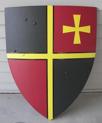 Рыцарский щит своими руками
