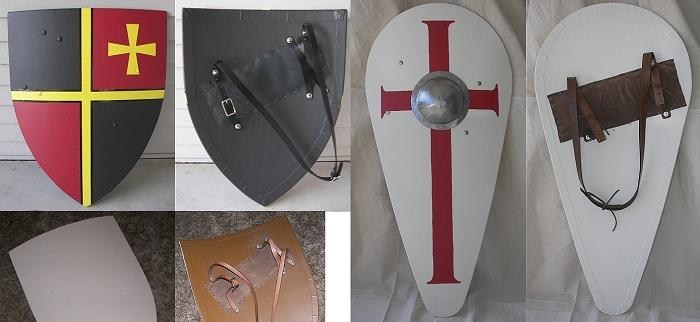Как сделать боевой щит