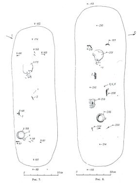 амулеты-топорики в могилах