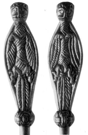 Pin (seen from front and back), Norelund