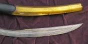 Елмань турецкой сабли пала и наконечник ножен