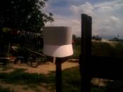 Бумажная выкройка-модель горшкообразного шлема