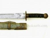 Китайский палаш Люйе Дао (Liuyedao Sword)
