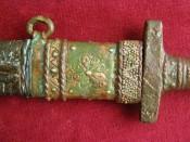 меч 9-10 века, стилизация под старину