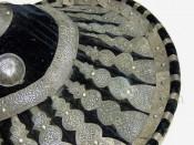 Абиссинский кожаный кулачный щит Гашан
