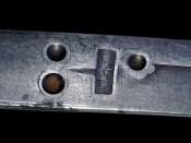 Клейма ммастера на клинке сабли