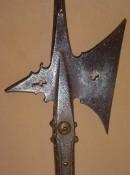 Южногерманская алебарда с большим шипом