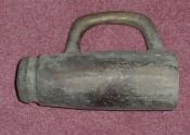 Средневековая бронзовая пушка с казенной частью