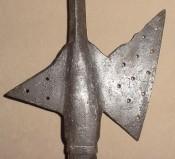 Алебарда, середина-конец 16 века