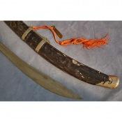Елмань и наконечник ножен китайской сабли Дао