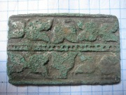 Накладка КР из оловянистой бронзы