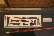 Пололоченые накладки и наконечник стрелы, панцирные пластины, наконечник стрелы