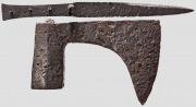 Топор и нож Немецкие, 15 Века.