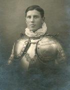 Фотографии швейцарских гвардейцев, сделанные в 1922 году,