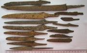 Набор ножей Алан, 11-13 век