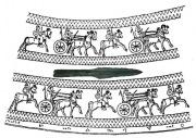 Древний бронзовый наконечник копья - Урарту