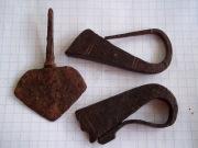 наконечник стрелы и кресало