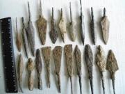 Железные наконечники стрел