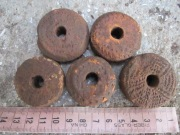 Глиняные пряслица