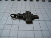 Бронзовый крестик  Киевской Руси