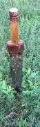 реставрация рукояти позднесарматского кинжала