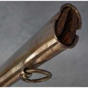 Устье ножен гусарской сабли, второй половины 18 века