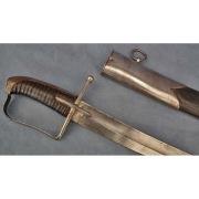 Гусарская сабля, вторая половина 18 века