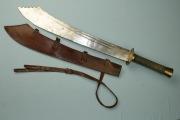Китайский, приспособленый для бешенной рубки, меч Дадао