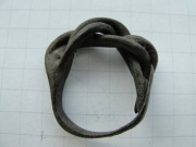 Кольцо витое бронзовое Киевской Руси 12-14 век