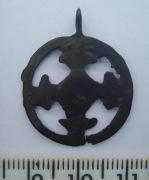 Солярный амулет с крестом