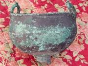 бронзовый скифский котелок