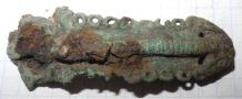 Бронзовая заколка Раннего железного века