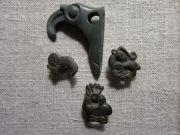 Скифские бронзовые бляшки