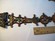 Бронзовая цепь Киевской Культуры, выполненная в технике перегородчатой эмали