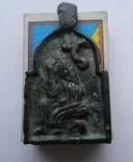 Нательная иконка Киевской Руси 12-13 в.в. с архангелом