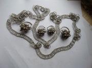 Колты з цепочкой,крестик з цепочкой, перстни, серебрянные находки 16-17