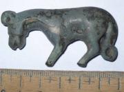 Пантера (возможно гиена) с скифского зеркала.